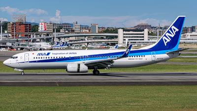 JA87AN - Boeing 737-8AL - All Nippon Airways (ANA)