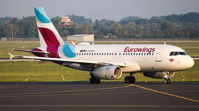 D-AGWD - Airbus A319-132 - Eurowings