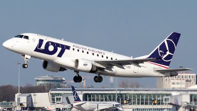 SP-LDG - Embraer 170-100STD - LOT Polish Airlines