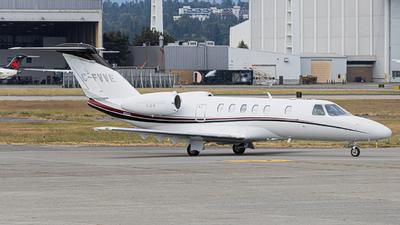 C-FVVE - Cessna 525 Citationjet CJ4 - Private