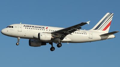 F-GRXE - Airbus A319-111 - Air France