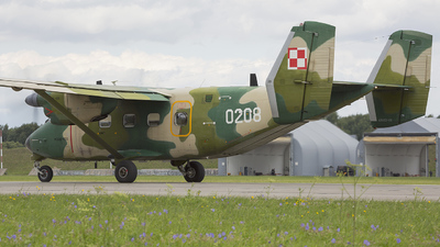 0208 - PZL-Mielec M-28TD Bryza - Poland - Air Force