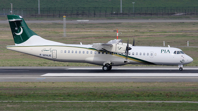 A picture of FWNUE - ATR 72600 - [] - © Yvan Panas