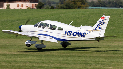 HB-OMW - Piper PA-28-180 Cherokee Challenger - Private