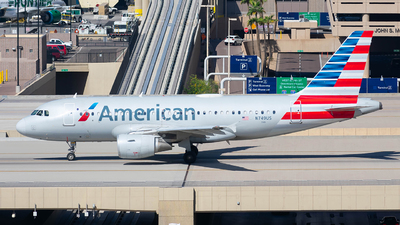 A picture of N749US - Airbus A319112 - American Airlines - © Taxi_Way_