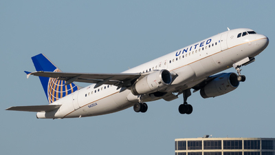 A picture of N405UA - Airbus A320232 - United Airlines - © Positive Rate Photography