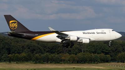N572UP - Boeing 747-44AF(SCD) - United Parcel Service (UPS)