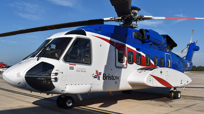 N692BG - Sikorsky S-92A Helibus - Bristow Helicopters