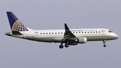 N86334 - Embraer 170-200LR - United Express (Mesa Airlines)