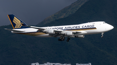 9V-SFQ - Boeing 747-412F(SCD) - Singapore Airlines Cargo