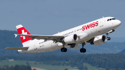 A picture of HBJLS - Airbus A320214 - Swiss - © Julian Mittnacht