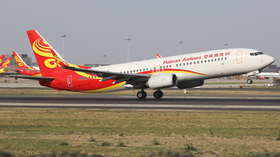 A picture of B1488 - Boeing 73786N - Hainan Airlines - © zifei