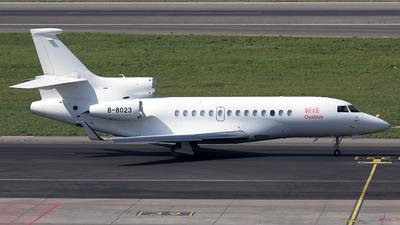 B-8023 - Dassault Falcon 7X - Private
