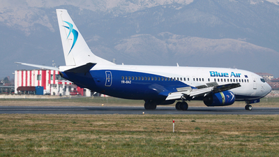 YR-BAZ - Boeing 737-405 - Blue Air