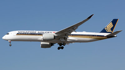 9V-SMT - Airbus A350-941 - Singapore Airlines