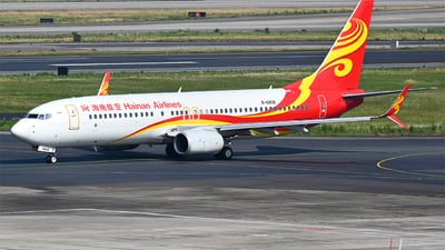 A picture of B6808 - Boeing 73784P - Hainan Airlines - © Tim Boeing ZGHA