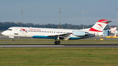 OE-LVC - Fokker 100 - Austrian Airlines (Tyrolean Airways)