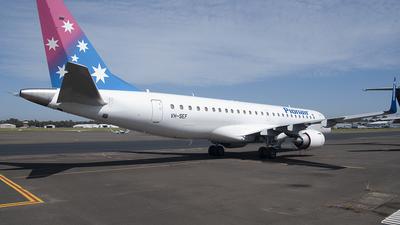 VH-SEF - Embraer 190-100LR - Pionair