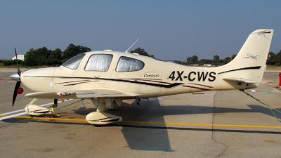 4X-CWS - Cirrus SR22 - Private