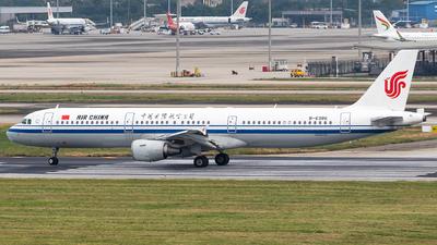 A picture of B6386 - Airbus A321213 - Air China - © HM Liu