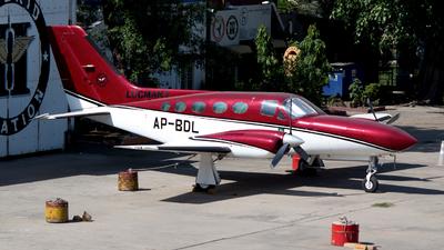 AP-BDL - Cessna 421C Golden Eagle - Hybrid Aviation