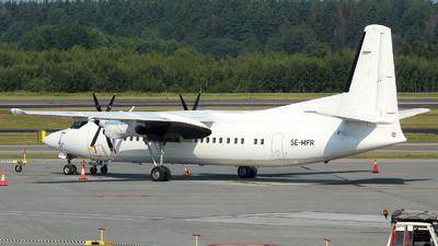 SE-MFR - Fokker 50 - Amapola Flyg