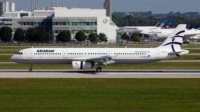 A picture of SXDGA - Airbus A321231 - Aegean Airlines - © Francesco Cavallin