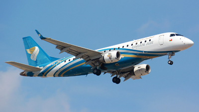 A picture of A4OEA - Embraer E175AR - Oman Air - © jeremy denton