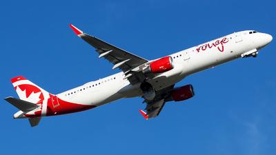 C-GKFB - Airbus A321-212 - Air Canada Rouge