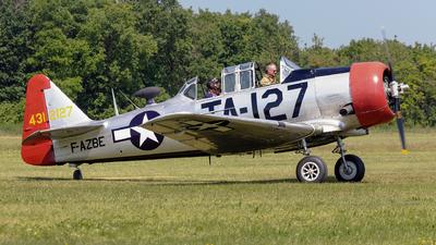 F-AZBE - North American T-6G Harvard 4 - Private