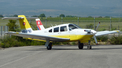 HB-PNI - Piper PA-28RT-201T Turbo Arrow IV - Flugschule Basel