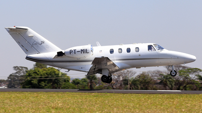 PT-MIL - Cessna 525 CitationJet 1 - Private