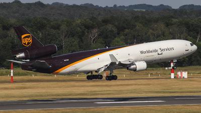 A picture of N281UP - McDonnell Douglas MD11F - UPS - © Julian Schwamborn