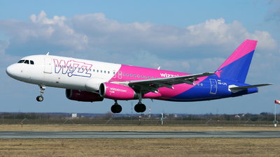 HA-LPL - Airbus A320-232 - Wizz Air