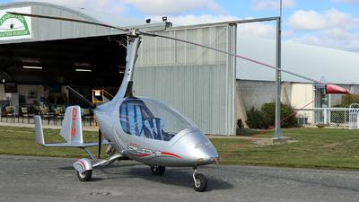 ZK-OTM - Autogyro Europe Calidus Fern - Private