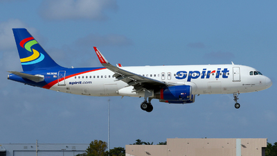 N636NK - Airbus A320-232 - Spirit Airlines