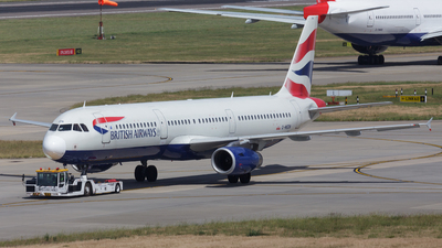 G-MEDN - Airbus A321-231 - British Airways