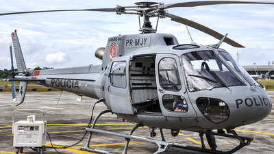 PR-MJY - Eurocopter AS 350B2 Ecureuil - Brazil - Government of Para State