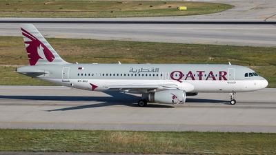 A7-AHJ - Airbus A320-232 - Qatar Airways