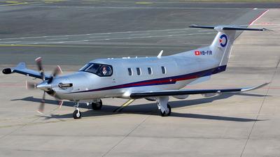 A picture of HBFIR - Pilatus PC12 NGX - [2008] - © Christian Weber