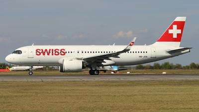 A picture of HBJDB - Airbus A320271N - Swiss - © Calin Horia Lupu