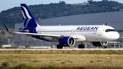 A picture of SXNEB - Airbus A320271N - Aegean Airlines - © Chris Tsiakos