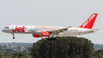 A picture of GLSAG - Boeing 75721B - Jet2 - © Debregabor