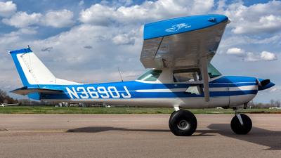A picture of N3690J - Cessna 150G - [15064990] - © HA-KLS