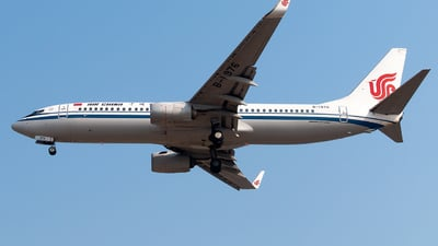 A picture of B1976 - Boeing 73789L - Air China - © william8252