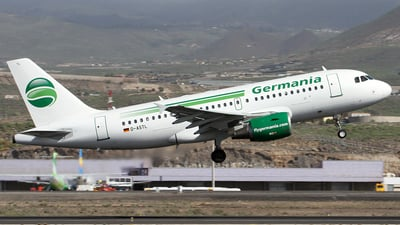 D-ASTL - Airbus A319-112 - Germania