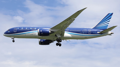 A picture of VPBBS - Boeing 7878 Dreamliner - Azerbaijan Airlines - © LANG