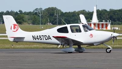 N487DA - Cirrus SR20 - L3 Airline Academy
