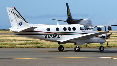 N438CA - Beechcraft C90B King Air - Private