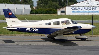 A picture of HBPRI - Piper PA28181 - [2843385] - © diopere geert